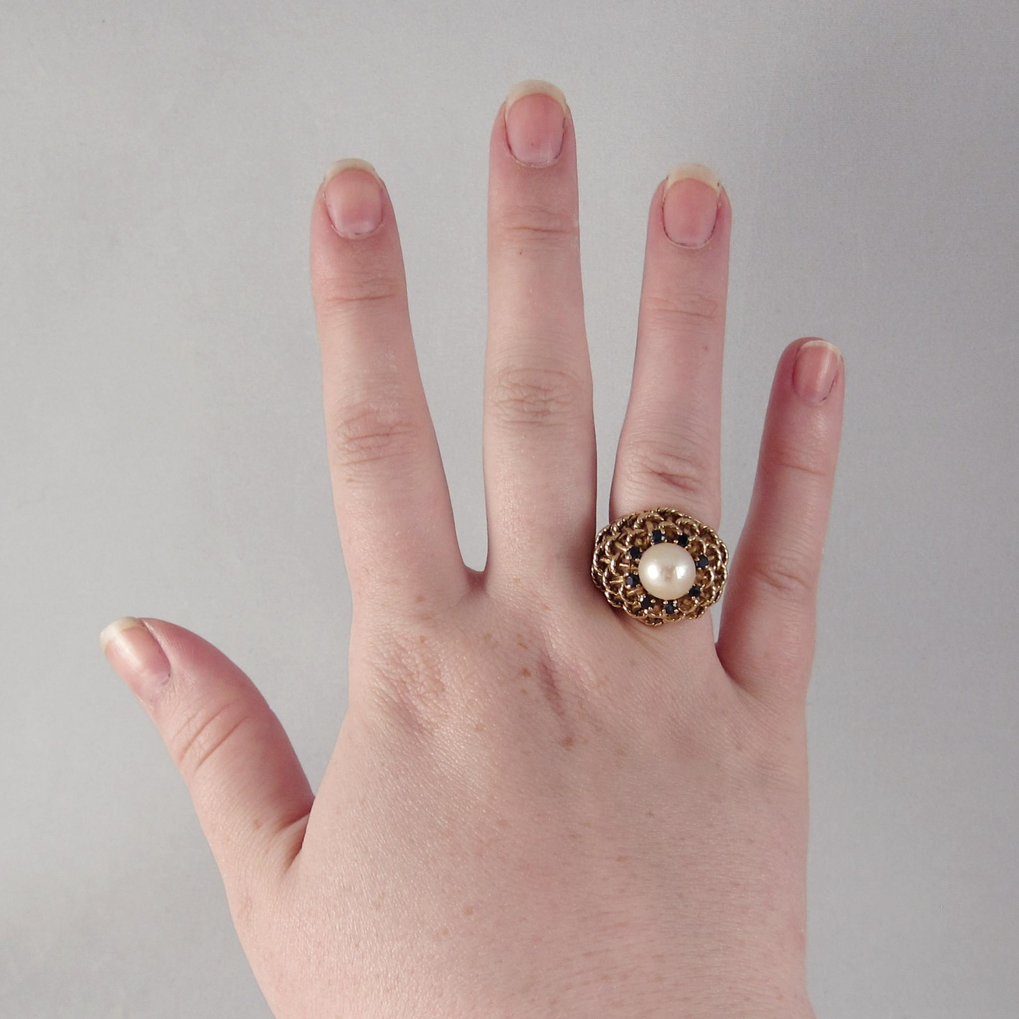 Fresh Pink Pearl Wedding Rings | Wedding