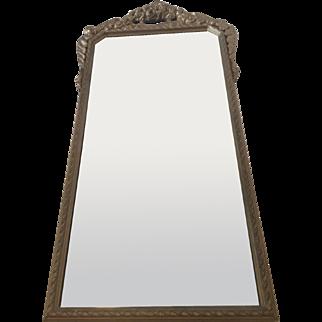 Antique Gesso Barbola Victorian Mirror
