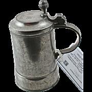 19th Century German Pewter Stein - 1