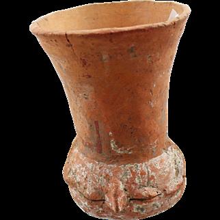 Pre-Columbian Figural Pot - 9