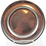 18/19 Century American  Parks Boyd Pewter Plate - 2