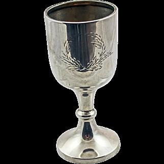 English Silver Goblet