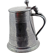 19Century German Pewter Stein