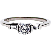 Natural Diamond Wedding Band for your Engagement Ring in Platinum