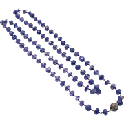 250 CT Natural Tanzanite 1CT Old Mine Diamond Sterling Silver Necklace