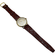 Highly Collectible The Most Unusual Rare Single Hand Vintage LONGINES Mens Watch