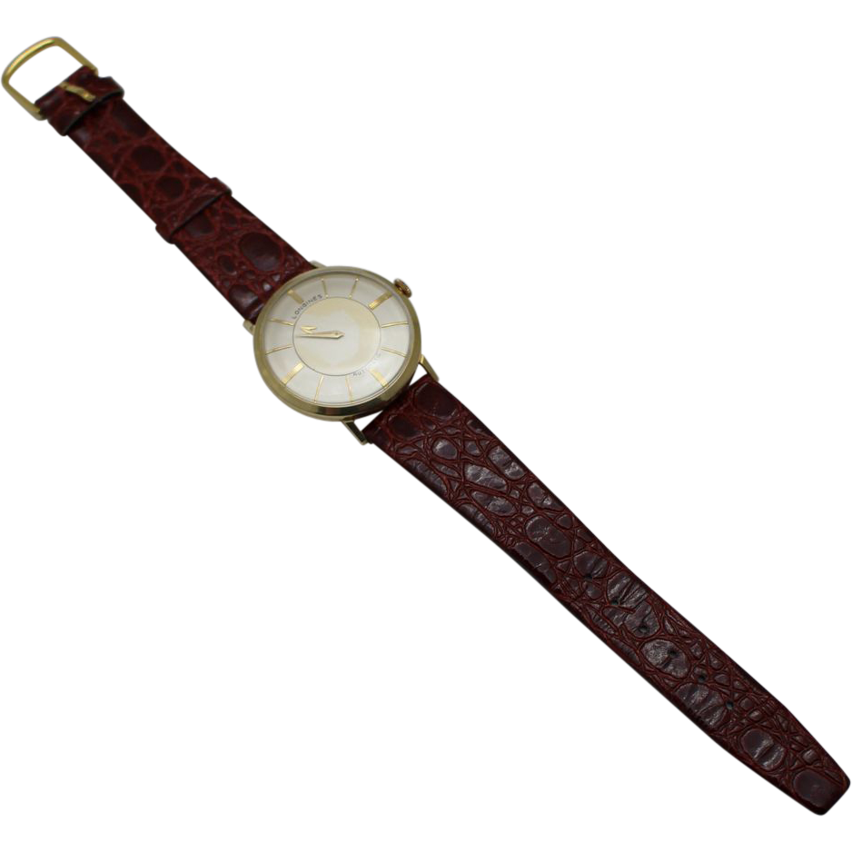 ... Rare Single Hand Vintage LONGINES from samantha-cham-nyc on Ruby Lane