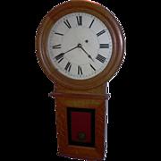 Waltham Clock Company Regulator #34, Weight driven