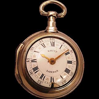 18th Century London pocket watch