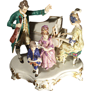 Meissen Porcelain Group of Musicians