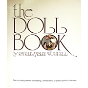 50% OFF - THE DOLL BOOK -E.A. Worrell; VINTAGE Step by Step PATTERNS for Creating a  Family of Period Dolls and Costumes