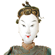 60 % Off ANTIQUE CHINESE Opera Puppet Doll - 19th CENTURY - Near Mint Condition