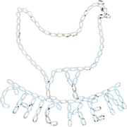 Funky Mid 20th C. Folk Art Chicken Trade Sign from Closed Bar & Restaurant