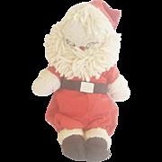 Vintage Folk Art Santa Rag Doll From My Collection