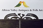 Albion Valley Folk Art and Antiques logo