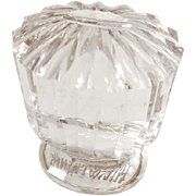 Antique Russian rock crystal seal, 19th century