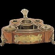 Antique french inkwell, era Louis XV 18th century