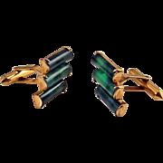Jade Cufflinks Jade Cuff Links Nephrite Jade 14K Gold Cufflinks Gold Cuff Links Mens Cufflinks Mens Cuff Links Unique Cufflinks Groom Cufflinks Wedding Cuff Links Mens Accessories Gift for Groom