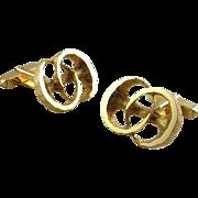 8K Gold Cufflinks Vintage Cufflinks Mens Cuff Links Mens Cufflinks Modernist Jewelry Unique Cufflinks RetroMid Century Jewelry