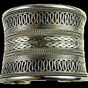 Sterling Silver Cuff Bangle Cuff Bracelet Bangle Bracelet handmade bracelet Slave Cuff Slave Jewelry Statement Bracelet Chunky Bracelet 925