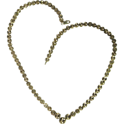 Dainty Necklace Pretty Necklace Laser Cut Jewelry Sterling Silver Chain Modernist Necklace Minimalist Necklace 925 Delicate Fine Retro Sparkly Disco Era