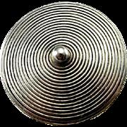 Spiral Ring Artisan Ring Modernist Ring Circle Ring Minimalist Ring Unisex Ring Geometric Ring Spiral Jewelry Statement Ring Sterling Silver