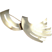 Retro Pin Retro Jewelry 1940s Brooch 1940s Jewelry Art Deco Brooch Art Deco Jewelry Great Gatsby Jewelry Downton Abbey Sterling Silver 925