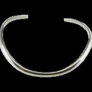 Minimalist Necklace Choker Necklace Choker Silver Collier Collar Necklace Silver Minimalist Jewelry Boho Jewelry Bohemian Necklace Sterling