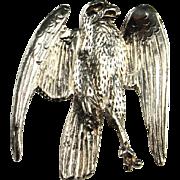 Eagle Pendant Eagle Jewelry American Eagle Bird Pendant Hawk Charm Hawk Necklace Eagle Charm Eagle Necklace Artisan Pendant Unisex Jewelry Mens Necklace Pendant Unique Artisan One of a Kind Bird of Prey