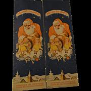 2 Package Vintage Tinsel Brillant Eis Lametta