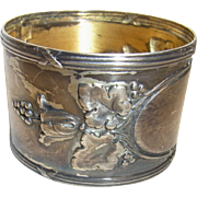 Silver Plated German Art Nouveau Napkin Ring ca.1900
