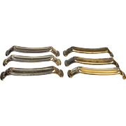 Set of Six Silver-plated German Silvered Knife Rests
