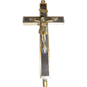 Antique German Cross with 8 Relic and Agnus Dei