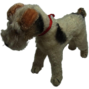 Vintage German Steiff Terrier Dog