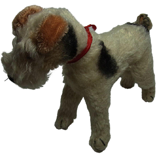 Vintage German Steiff Terrier Dog