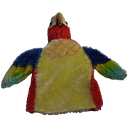 Vintage German Steiff Hand Puppet Parrot