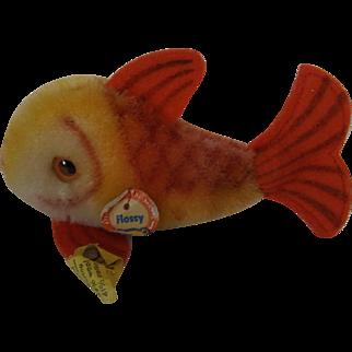 Small Vintage Steiff Fish Flossy all ID