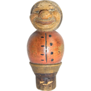 Vintage Italy Bottle Stopper Women ANRI