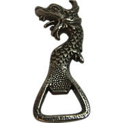 Vintage German Bottle Opener Dragon Head