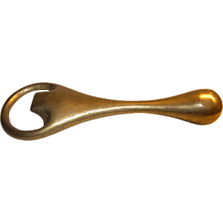 Vintage Austrian Brass Bottle Opener Carl Aubock