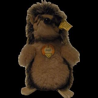 Vintage German Stuffed Animal Steiff Hedgehog Jogi All ID