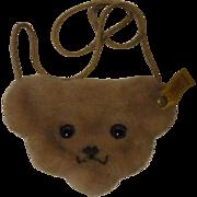 Steiff Bear Purse - Red Tag Sale Item