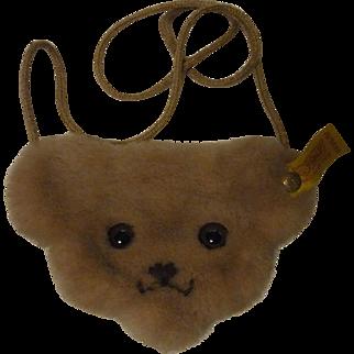 Steiff Bear Purse