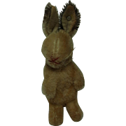 Vintage German Steiff Bunny with Button