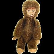 Vintage German Schuco Monkey Tin Body