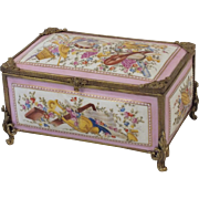 Sevres jewelry / vanity box