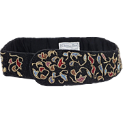 "Christian Dior ""Ceintures"" beaded belt"