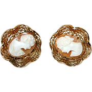 Accessocraft Cameo Earrings