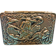 Antique Match Safe - Neptune/Poseidon