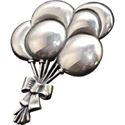 James Avery Sterling Silver Balloon Bouquet Brooch